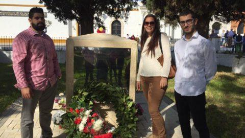 Acto en Homenaje a los Caídos.