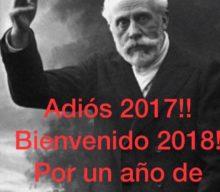 Feliz año a todas y todos.