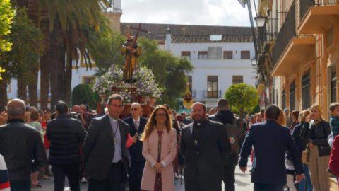 SAN DIEGO DE ALCALÁ RECORRIÓ EN PROCESIÓN LAS CALLES DE AYAMONTE