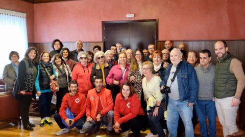 LA ALCALDESA DE AYAMONTE RECIBIÓ EN EL AYUNTAMIENTO A LOS PARTICIPANTES EN EL CONCURSO FOTOGRÁFICO PARA MAYORES