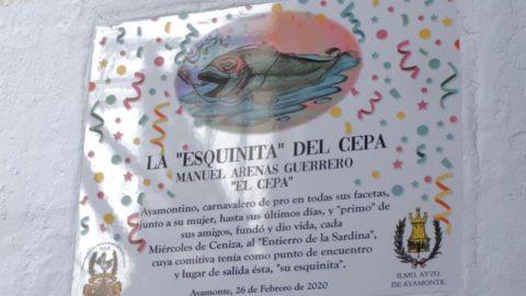 """AYAMONTE HOMENAJEÓ A MANUEL ARENAS, """"EL CEPA"""", PRECURSOR DEL TRADICIONAL ENTIERRO DE LA SARDINA"""