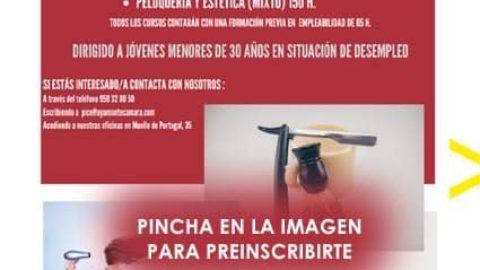 LA CÁMARA DE COMERCIO DE AYAMONTE, EN COLABORACIÓN CON EL AYUNTAMIENTO, OFRECE CURSOS DE FORMACIÓN PARA JÓVENES DESEMPLEADOS